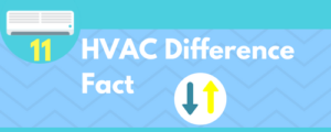 HVAC Difference fact
