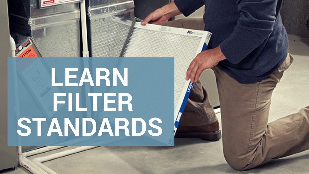 air filter standards