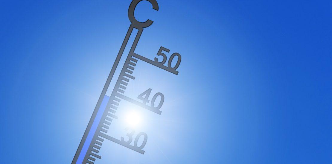 Hot rising temperatures