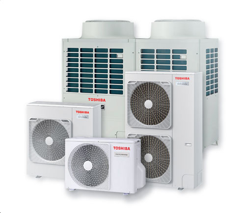 Toshiba commercial air con unit