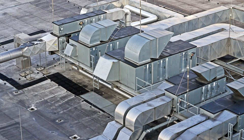 ventilation on the top of a building